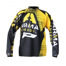 Progrip 7012 Adult Motocross Shirt – Arma Energy Black